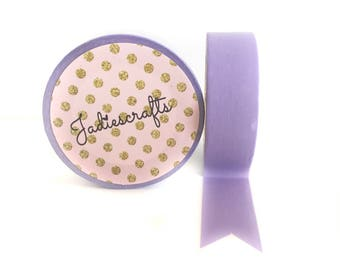 Heather Purple Washi Tape