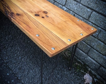 Reclaimed Pine flooring Table