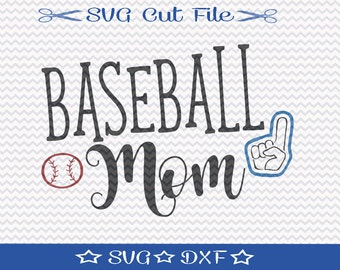Baseball Mom SVG File / Baseball SVG File / Baseball Player svg / Sports svg / Baseball svg / svg for Baseball / Spring Training svg