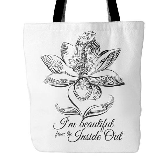 Tote Bag - I'm Beautiful From The Inside Out