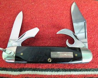 Sears Craftsman Vintage Utility Knife - Vintage Four (4) Blade Camp Knife