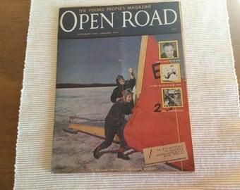 Open Road Magazine December 1952 & January 1953