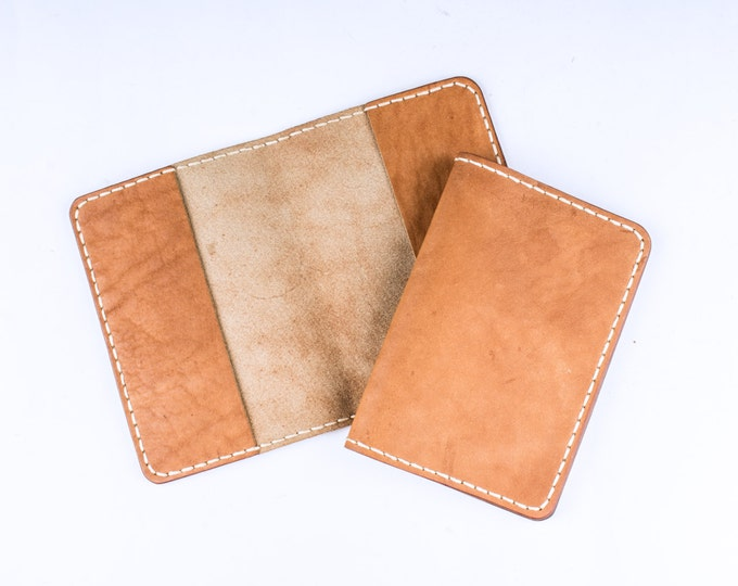Travel Passport ID Card Cover Holder - Leather passport cover case - Document cover - leather passport holder - Travel passport case