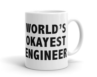 Engineer Gift for Engineer Mug, Funny Engineer Mug, engineering Mug, Graduation gift, Father Mug, Gift for him, Idea for Engineer #1123