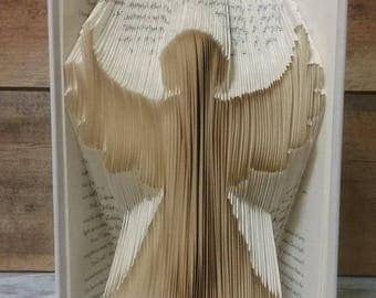 Angel Folded Book Art