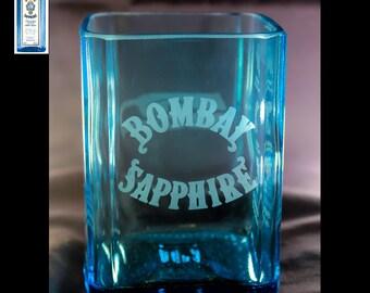 Set of 2 Bombay Sapphire Gin Premium Rocks Glasses