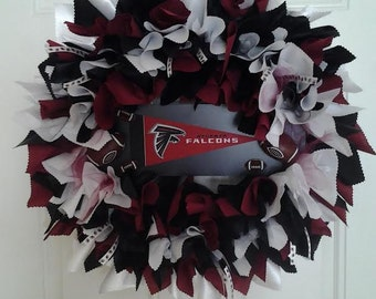 Falcons Wreath - Falcons Fans- Falcons Gifts -Falcons Superbowl