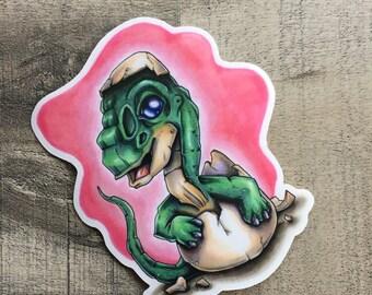 Baby Brontasaurus Sticker