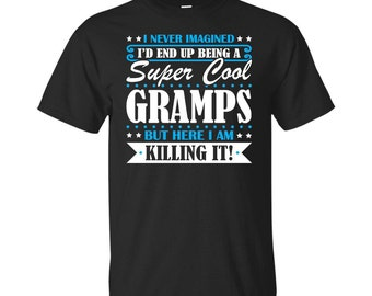 Gramps, Gramps Gifts, Gramps Shirt, Super Cool Gramps, Gifts For Gramps, Gramps Tshirt