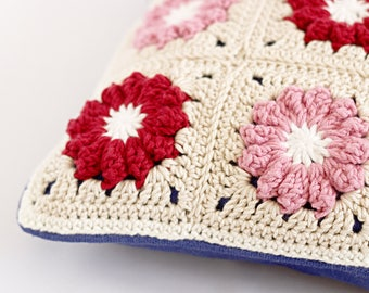Red & Pink Cushion Cover