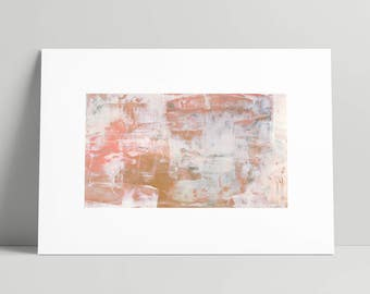 Blush and Gold ~ Abstract Print ~ Lux ~ Bedroom Wall Art ~ Modern Abstract Art ~ Art Abstract ~ Painting Prints ~ Abstract Acrylic Painting
