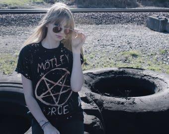 Mötley Crüe Pentagram Shirt