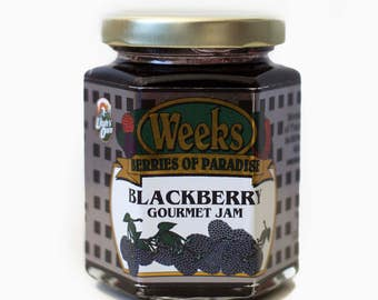 Blackberry Jam, Gourmet - Utah's Own, Preserves, Jelly, Marmalade