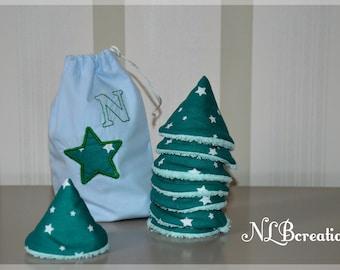 Pee Teepees-set of 8 with a custom storage bag