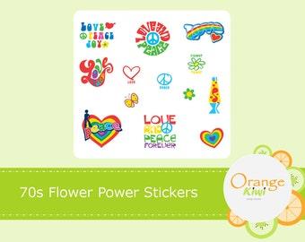 Flower Power Peace Etsy
