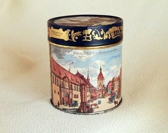 Vintage E. OTTO SCHMIDT Gingerbread Tin