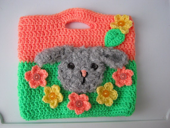 Bags for children knitted bag childrens giftpresents