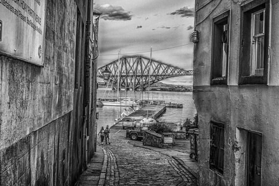 Forth Rail Bridge: Fine art photography print. Wall art. Wall decor. Contemporary art. Scottish photography, forth bridge, edinburgh prints