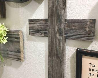 Wooden Cross, Wood Decor, Cross, Cross Decod, Rustic Decor, Wall decor