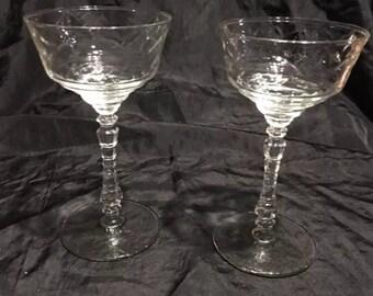 long stemmed wine glasses etsy. Black Bedroom Furniture Sets. Home Design Ideas
