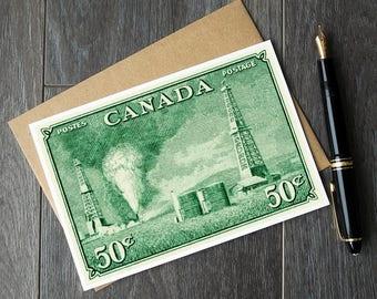 alberta poster art, Alberta Oilsands, alberta canada, alberta oil sands, alberta oil industry, alberta oil wells canada, vintage