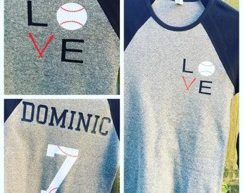 Raglan Baseball Tshirt