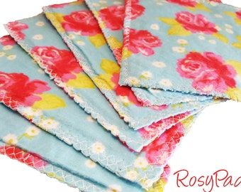Washable Toilet Paper, Un-paper, Reusable Wipes, Washable Family Wipes, Baby Wipes, Set Of 6