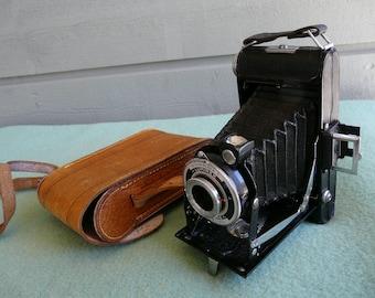 "Lumiere Lumirex vintage camera. 1940s. Anastigmat ""FIDOR"" 6,3."