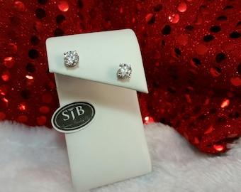 Diamond Studs, Big Diamond Stud Earrings, 2.02ct Diamond Stud Earrings, SI3 H/I, 14k White Gold Diamond Earrings, Diamond Statement Earrings