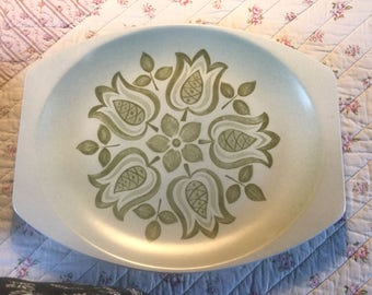 Meakin Maidstone Tulip Time Serving Platter