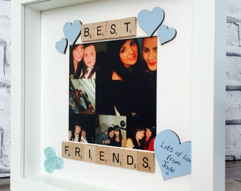 Best Friends Frame, Personalised Best Friends Gift Frame, Best Friends Photo Frame, Best Friends, Best Friend Frame, Special Friends Framed