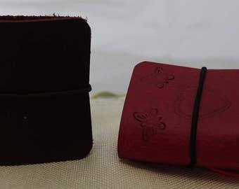 Leather Ear Bud Case