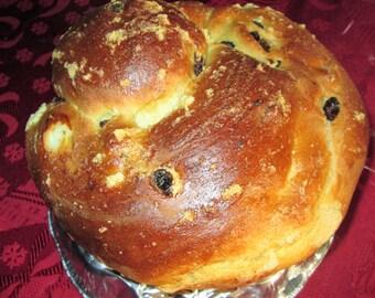 Paska/ Easter Bread/ Raisin Bread/ Sweet Bread/Egg Bread