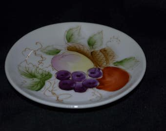 Hand Painted Fruit Plate