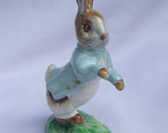 Vintage Beswick Beatrix Potter Peter Rabbit Figurine BP3C - 1980s Beswick Collectable, The Tale of Peter Rabbit, Frederick Warne & Co Design