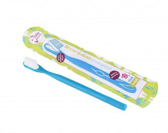 Toothbrush refillable - blue