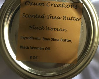 African Raw White Scented Shea Butter