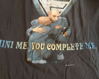 Austin powers Mini me and dr evil t shirt xl rare