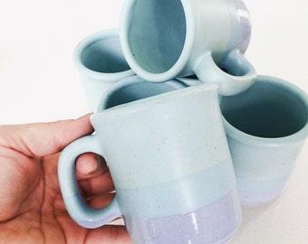 Faye Vintage Ombre Mugs