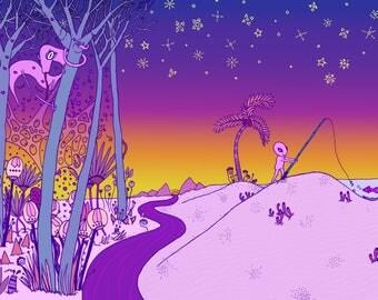 Desert Love Scene