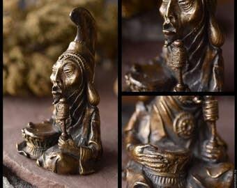 Tibetan Shaman bronze sorcier