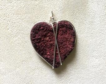 Rose Petal Heart Pendant, Rose Petal Memorial Jewelry, Jewelry Made From Rose Petals, Rose Jewelry, Memory Memorial Keepsake Jewelry