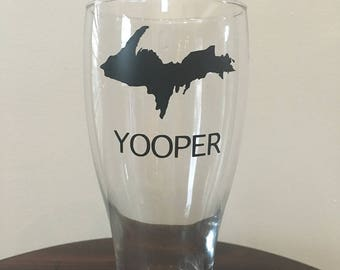 Yooper Upper Peninsula Glass