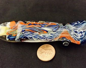 Broncos colored inside out chillum