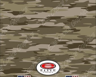 """Traditional Desert  52""""x6ft Wrap Vinyl Truck Camo Car SUV Tree Real Camouflage Sticker Decal"""