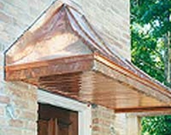 Rectangular Awning Soffit Kit (Only) by ClassicCopper.com