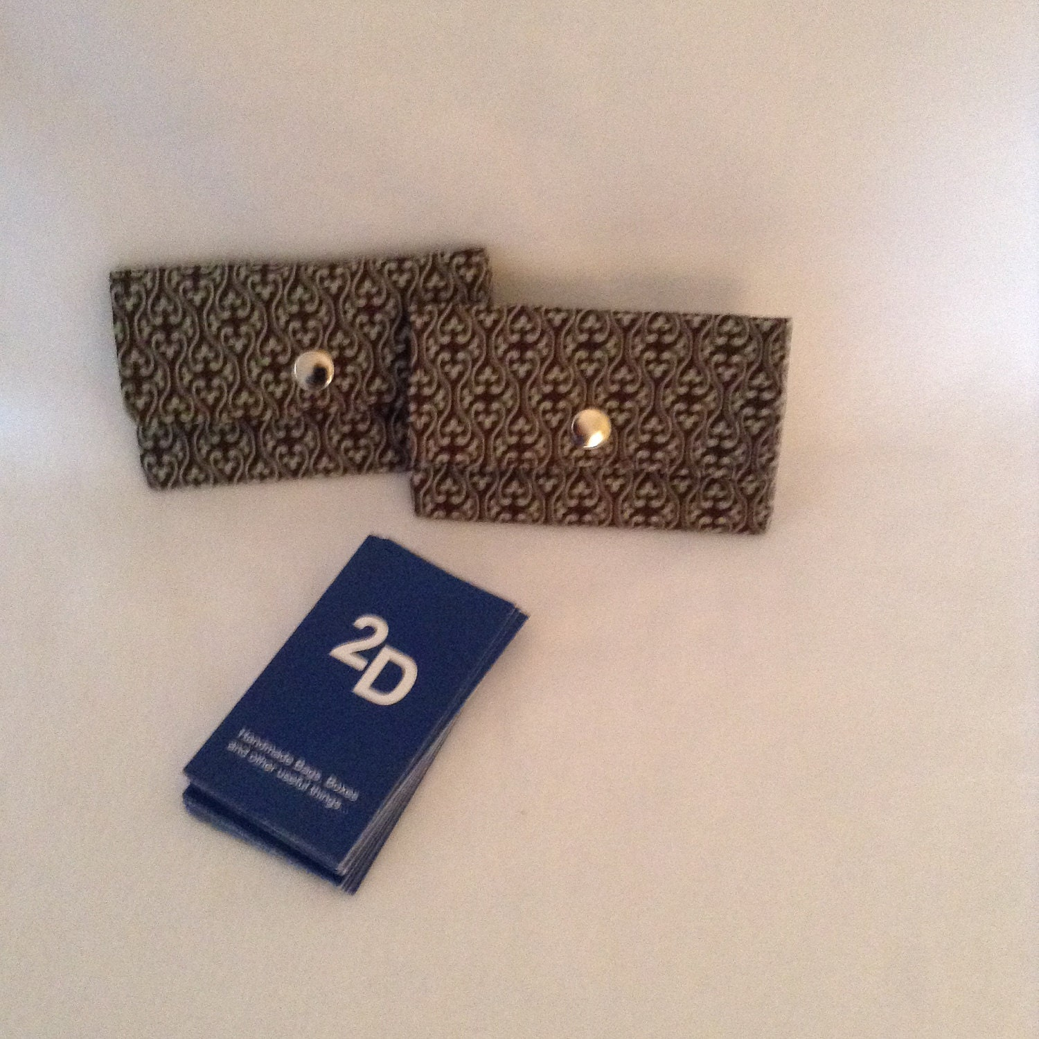 Business Card Case- Gift Card Holder, Mini Wallet, 2Delany Designs ...