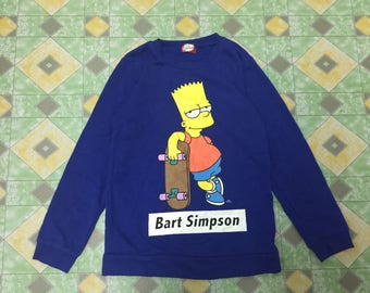 Bart Simpsons The Simpsons Pullover Sweater