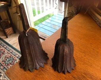 Antique victorian flower holders