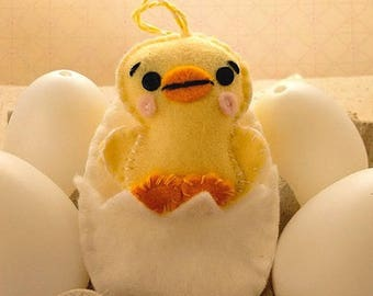 Felt Pattern-Felt-Easter Chick & Egg- Chick Sewing Pattern Tutorial-Decor-Felt PDF Pattern-Felt Patterns-DIY Gift-Easter Ornament